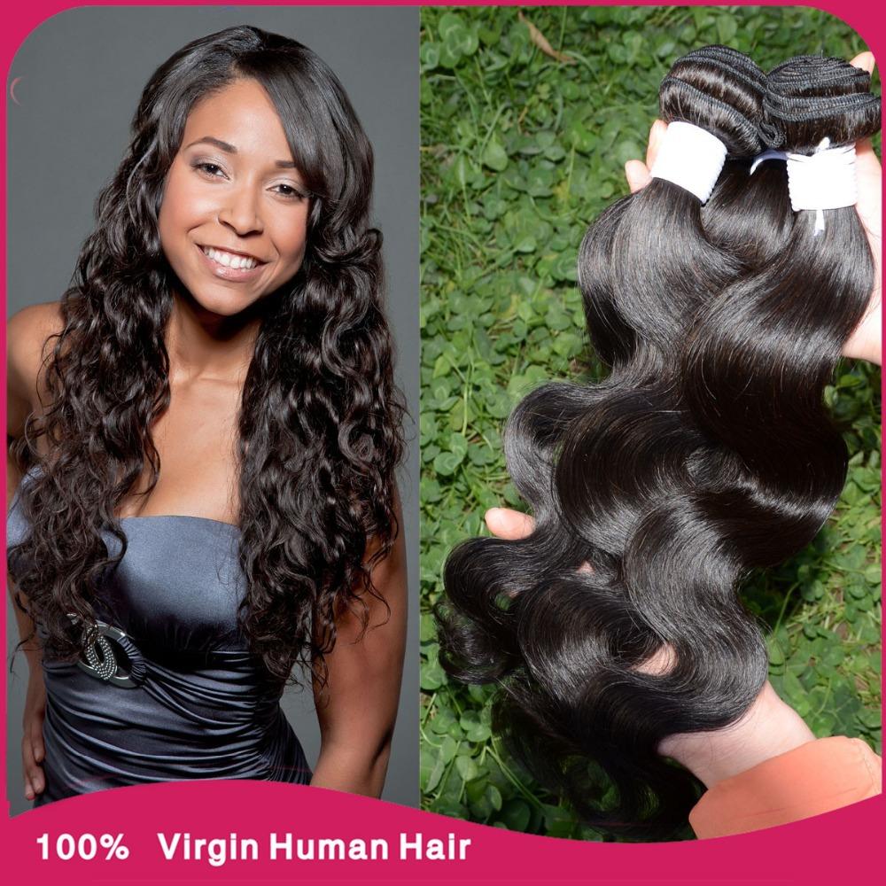 3pcs Brazilian body wave hair bundles 10-30inch vip beauty hair Brazillian virgin hair body wave Milky way human hair extensions(China (Mainland))