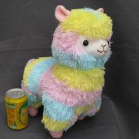 Free Shipping 15inch/38cm NEW Japan Amuse Arpakasso Alpacasso Alpaca Plush Doll multicolour lovely