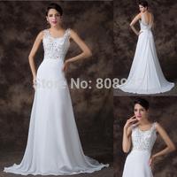 Latest Design Elegant Sequins Natural Floor Length Prom Long Chiffon Cheap Evening Dress 2015 New Wedding Party Dresses CL6262