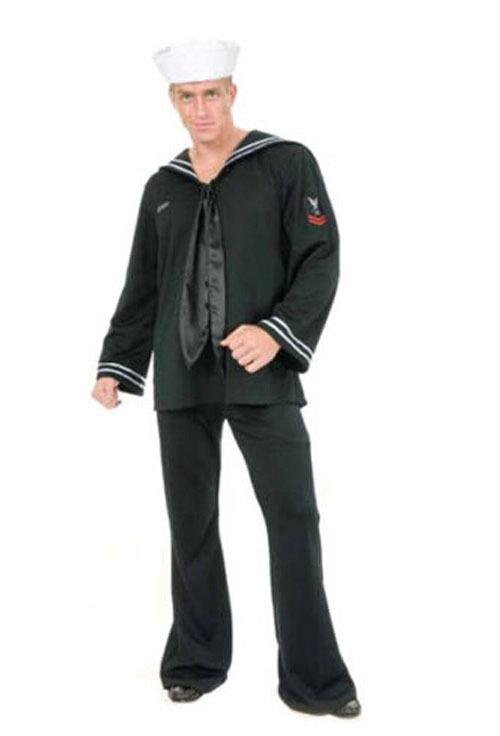Venda Hot Custom Made Mens 20 s 40 s marinheiro da marinha uniforme Halloween Cosplay(China (Mainland))