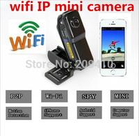 16GB WiFi camera Mini DV Wireless IP Camera Hidden camcorder Video Record wifi hd pocket-size Remote by Phone mini camera