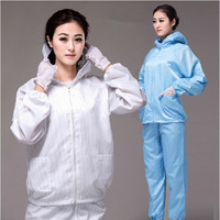 Anti-static clothing dusters protective clothing Clean the uniform Hooded fission suitwork work wear