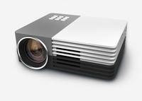 NEW GM50 Portable Russian Portuguese HD 1920*1080 For Video Games TV Movie Support HDMI VGA AV  Home Theater MINI Projector