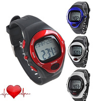 2015 New Relogio Masculino Pulse Heart Beat Rate Monitor Calories Counter watches Men Digital Sport Waterproof LED WristWatches