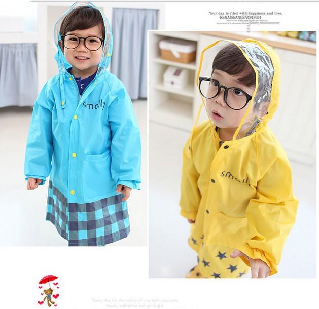 Promotion 2PCS/Lot Cartoon Animal-shaped Waterproof Child Rainwear / Children's Raincoat / Kids Rainsuit / Baby Poncho(China (Mainland))