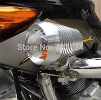 Wholesale CREE 30W 1500LM 12V-60V U2 Motorbike light Motorcycle daytime running driving Spot Fog Strobe headlight Flash lamp