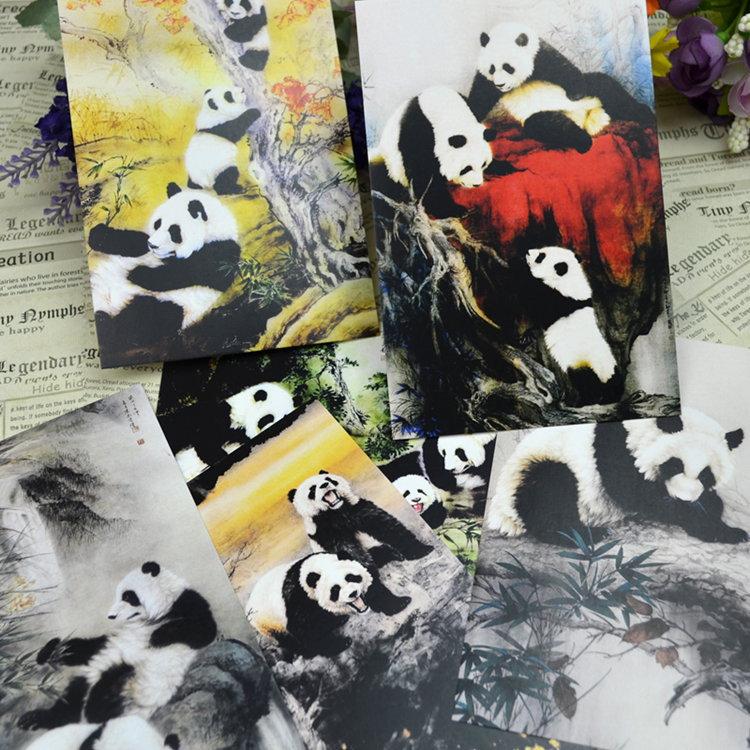 panda post card(China (Mainland))