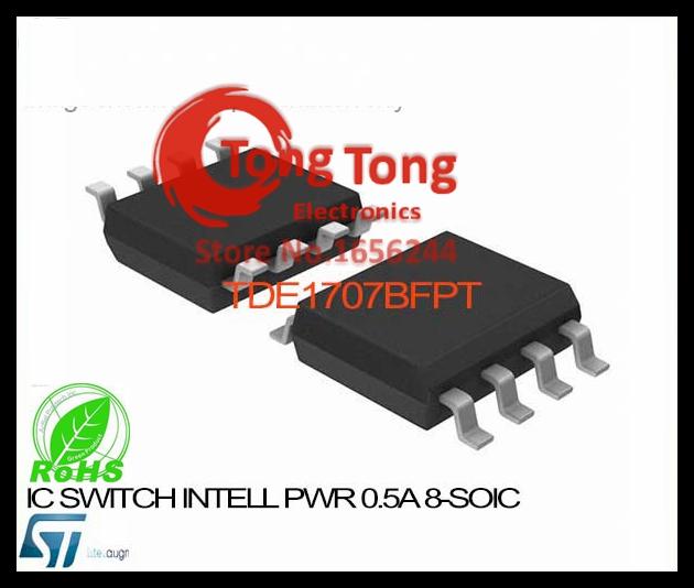 TDE1707BFPT IC SWITCH INTELL PWR 0.5A 8-SOIC TDE1707BFPT 1707 TDE1707 TDE1707B TDE1707BF 1707B(China (Mainland))
