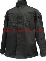 Black special warfare BDU Camouflage Army unifom uniform military uniform
