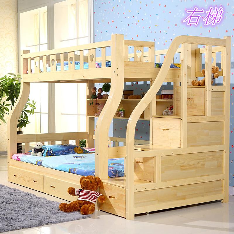 Online kopen wholesale kind bed met opbergruimte uit china kind bed met opbergruimte groothandel - Stapelbed met opslag trappen ...