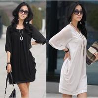 2015 explosion models new summer dress Korean Women large size dress chiffon skirt