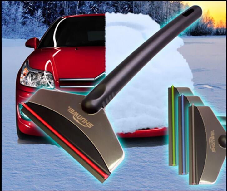 Телескопический лопата для уборки снега автомобиль снег кисть лопата для уборки снега выскабливание автомобиль для укладки льда скребок автомобиль