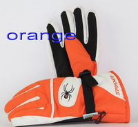 Spider man and woman ski gloves,The new warm waterproof windproof cycling means Ski gloves