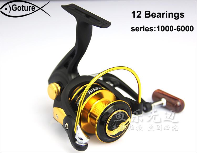 German technology for shimano feeder fishing 12 bears metal front drag spinning fishing reel fish wheel Free Shipping(China (Mainland))