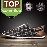 2015 New canvas shoes men fashion sneakers casual walking men shoes plaid men flats leisure sport shoes size 39-44 MA4041
