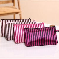 Cosmetics Bags Cute Multicolor Striped Women Cosmetic Bag Storage Bag Fashion Handbags Bolsas Femininas