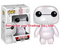 "10pc/lot Big Hero 6 baymax Robot Action Figure FUNKO POP 6""  baymax PVC Cartoon Movie baymax  Figures Big Hero 6 Movie Toys"