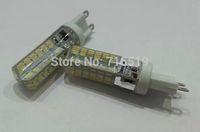 G9 96leds SMD 3014  led Warm White &  white Led bulb  48warm white 48white Silicone 2 kinds color temperature AC 220V 1000PCS