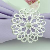 100pcs  wedding napkin ring CJK97