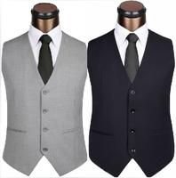 Men's Clothing Male Fashion Slim Chaleco Hombre Gentlemen Blaser Coletes Masculino Groom Plus Size 5XL 6XL Men Dress Suit Vest