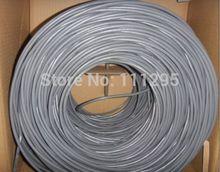 Самое лучшее качество серый цвет 305 м упт cat6 сетевой кабель для крытый осо сетевой кабель OEM или ODM