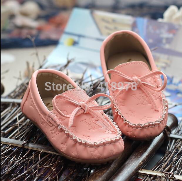 Кожаная обувь для девочек 2015 baby
