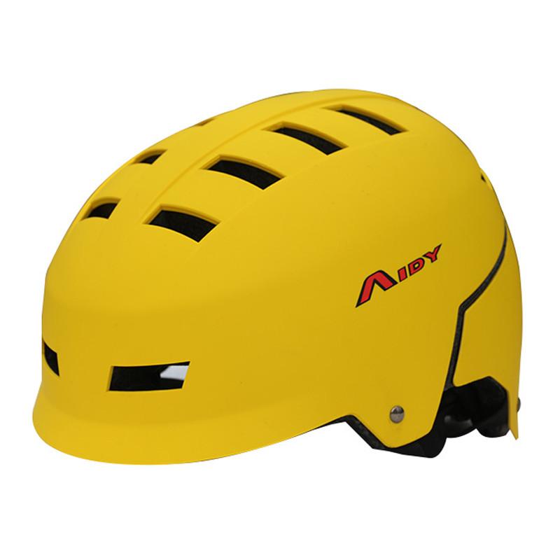 New Unisex ABS/EPS Multi-Purpose Skateboard Helmets BMX Roller Skating Mountain Bike Outdoor Sports Equipment Multi Color(China (Mainland))