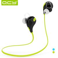 Original QCY Bluetooth Earphone Waterproof Sports Headset Music Noisy Cancelling Bluetooth 4.1 MIC 1080P HD sound Headphone