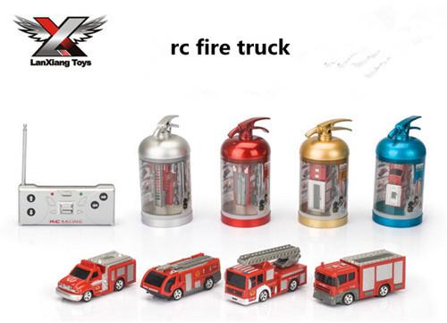 [해외]1:63  Scale 4CH  RC Fire Truck Scale Mdoels Brinque..