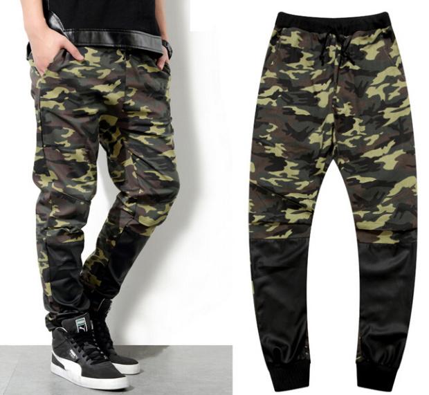 Мужские штаны Brandnew 2015 /pu Streetwears 3XL
