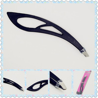 12pcs 2015 New style Factory Direct Selling makeup tools stainless steel eyebrow tweezers for wholesales
