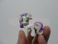 TRY ME!!!!! 12 pcs/set cute little Horses  Action Toy Figures unicorn pvc  doll cartoon figures toys for kids