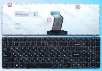 Free shipping  ORIGINAL Laptop keyboard for lenovo G580 Z580 V580 GARY frame russian keyboard  T4B8-RU