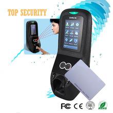 multibio700 Gesicht zutrittskontrolle Türsteuerung mit fingerabdruck und rfid-kartenleser 1500 Gesicht Kapazität 3-zoll-touchscreen(China (Mainland))