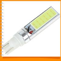 2pcs! 300LM T10 10W 12V LED COB Bulb Fog Lamp Super Bright Xenon White Auto Car LED Fog Light Bulb Foglights