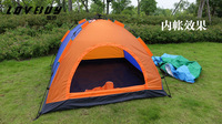 LB0006 Quick Fully Automatic Opening Camping Tent 3-4 persons Double Layers 3.2kg Free Shipping EMS DHL FEDEX Shippment