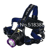Hot 2000Lm Waterproof CREE XML T6 Zoom Out LED Headlight Headlamp Head Lamp Light 3 Modes For Bicycle Camping Dropshipping