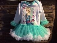 2015 new ice romper tutu dress  set