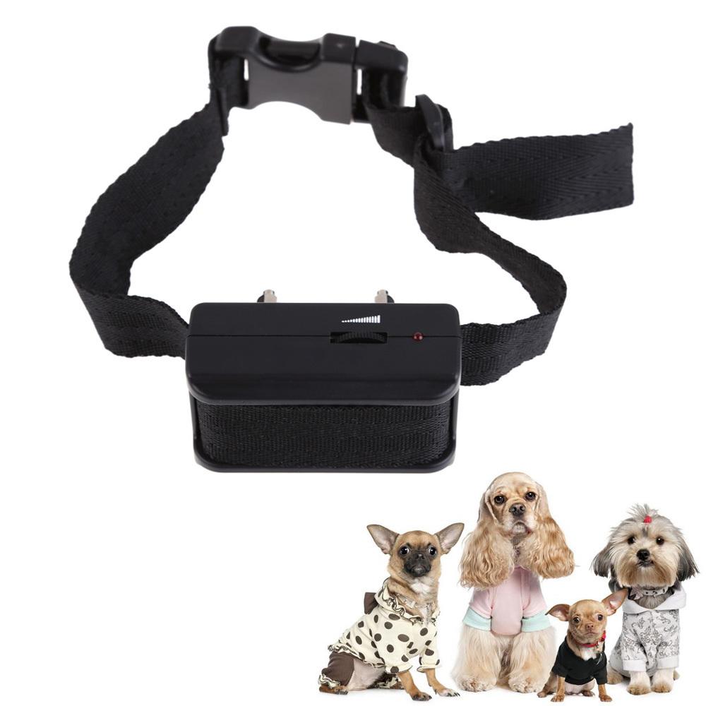 R1B1 Small No Bark Anti Barking Pet Dog Training Control Collar Alarm Shock Device(China (Mainland))
