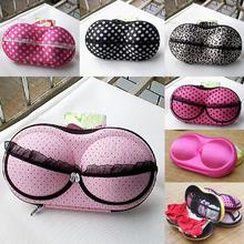 Stylish Portable Lingerie Storage Box Sexy Lady's Colorful Bra Chest Bag Underwear Organizer Travel Bag For Women(China (Mainland))