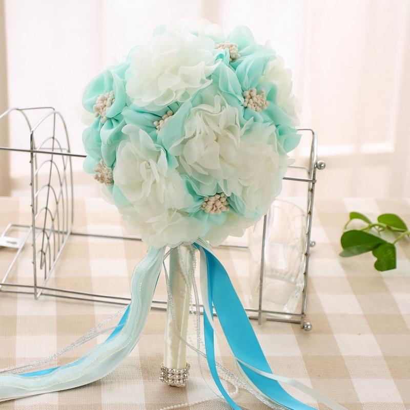 Букеты из искусственных цветов для свадьбы своими руками