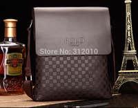 2014 Casual men Shoulder Bag briefcase Fashion Brand Polo Bag Men Leather Men's Messenger Bag