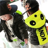 Children's clothing male winter child 2014 wadded jacket outerwear infant 01-2-3 children thickening thermal cotton-padded