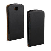 Genuine Leather Flip Cover Case for htc desire 516 with Magnetic Snap 1pcs/lot Free Shipping