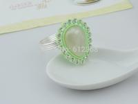 200Pcs  Water droplets Napkin Ring Rhinestones Napkin Rings for Weddings  Napkin Rings shiny