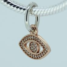 Fits Pandora Bracelet Eye dangle Silver Beads New Original 100 925 Sterling Silver Jewelry Charms DIY
