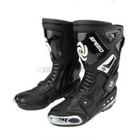 2014 New Motorcycle Sports Boots PRO-BIKER SPEED BIKERS Breathable Motocross Racing Motorbike Riding Boots Shoes Protective Gear