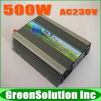 500W 24V MPPT Grid Tie Micro Solar Inverter, On Grid Inverters Pure Sine Wave DC22-50V to AC230V for 600W 24V Solar Panel
