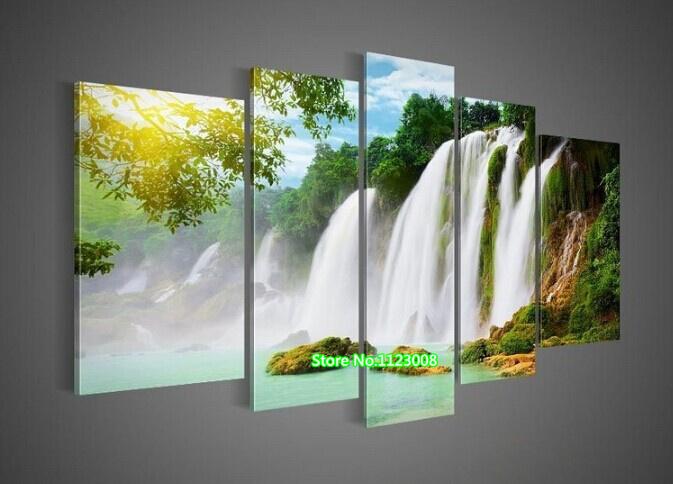 Online kopen wholesale vakantie cijfers uit china vakantie cijfers groothandel - Decoratie schilderij gang ...