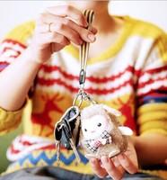 Year of the Ram mascot plush toy doll Meng Yang Yang Schaub born baby doll pendant gift